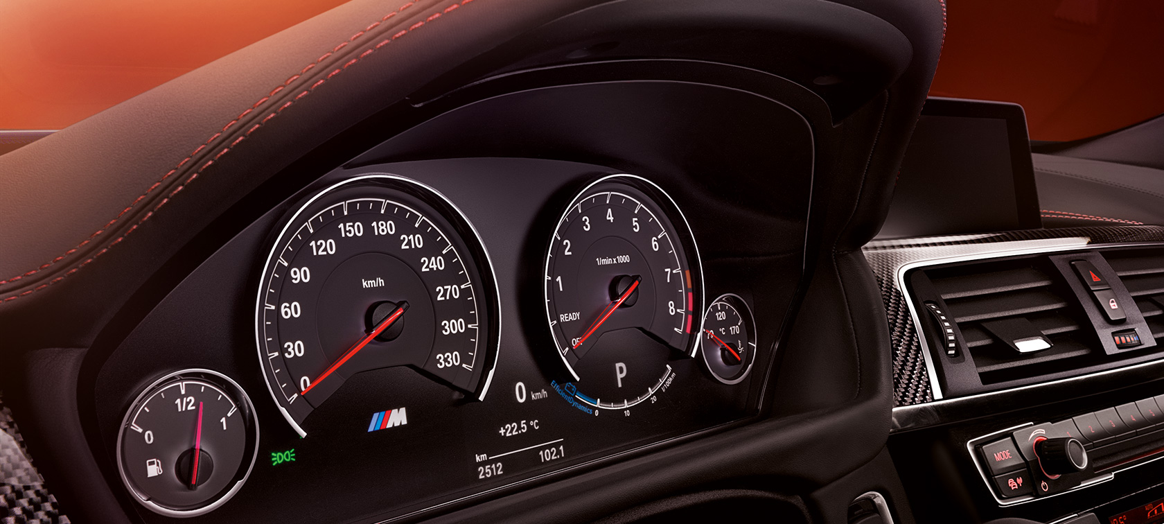 CONNECTIVITY IN THE BMW M4 COUPÉ.