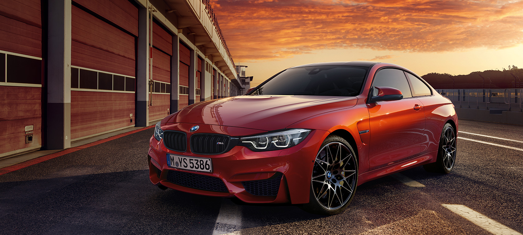 THE DESIGN OF THE BMW M4 COUPÉ.